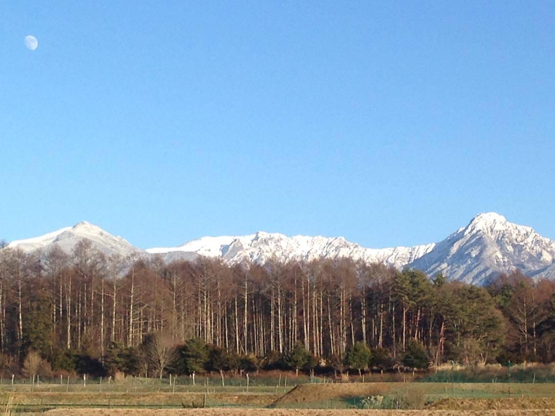 八ヶ岳と自然栽培