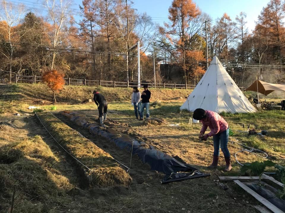 EM農法 〜 リングリンクのお庭で土作り
