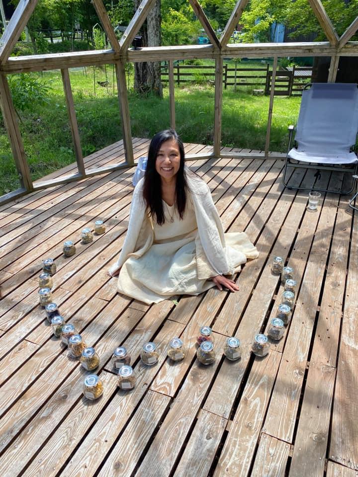 自然療法ヒルデガルト講座 in 八ヶ岳